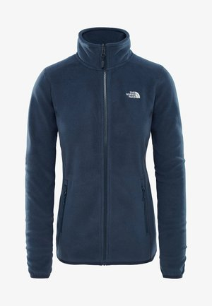 WOMENS GLACIER FULL ZIP - Fleecetakki - blue/grey