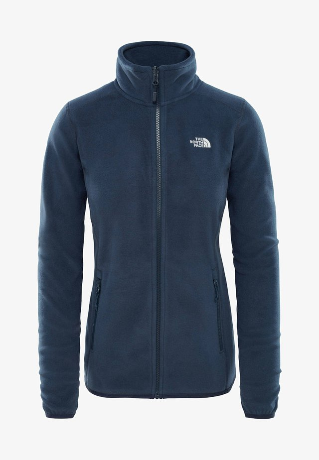 WOMENS GLACIER FULL ZIP - Fleecejacke - blue/grey