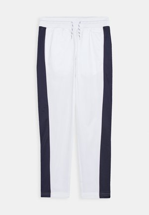 STRAIGHT LEG PANT - Tracksuit bottoms - white