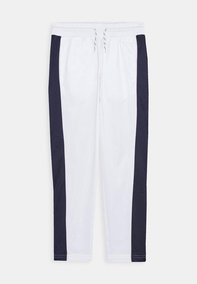 STRAIGHT LEG PANT - Trainingsbroek - white
