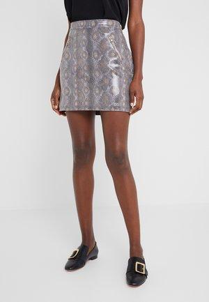 GONNA SKIRT - Pencil skirt - natural phyton