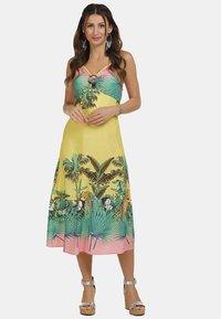 IZIA - Day dress - tropical print - 1
