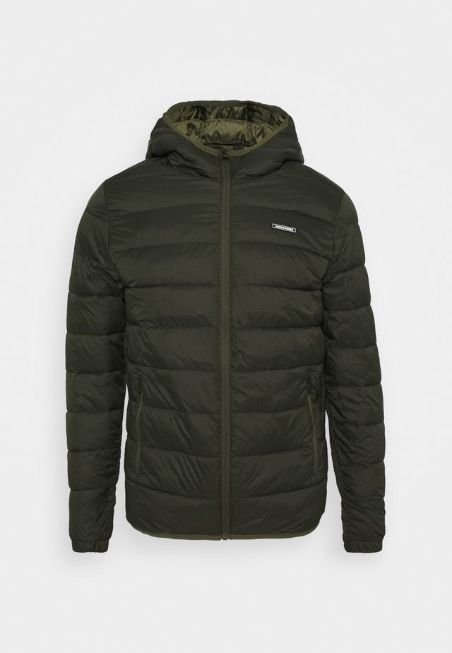JJVINCENT PUFFER HOOD - Light jacket - rosin