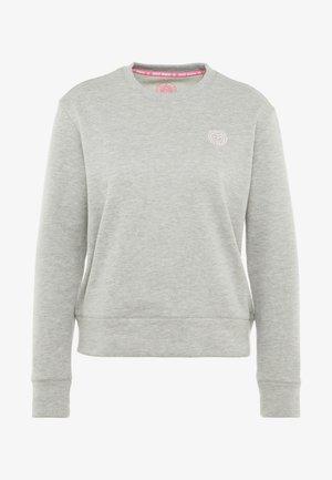 MIRELLA BASIC CREW - Sweatshirt - light grey
