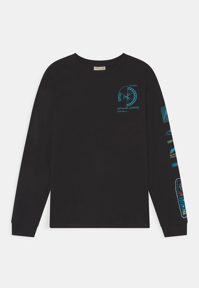 METEORITE - Pitkähihainen paita - black