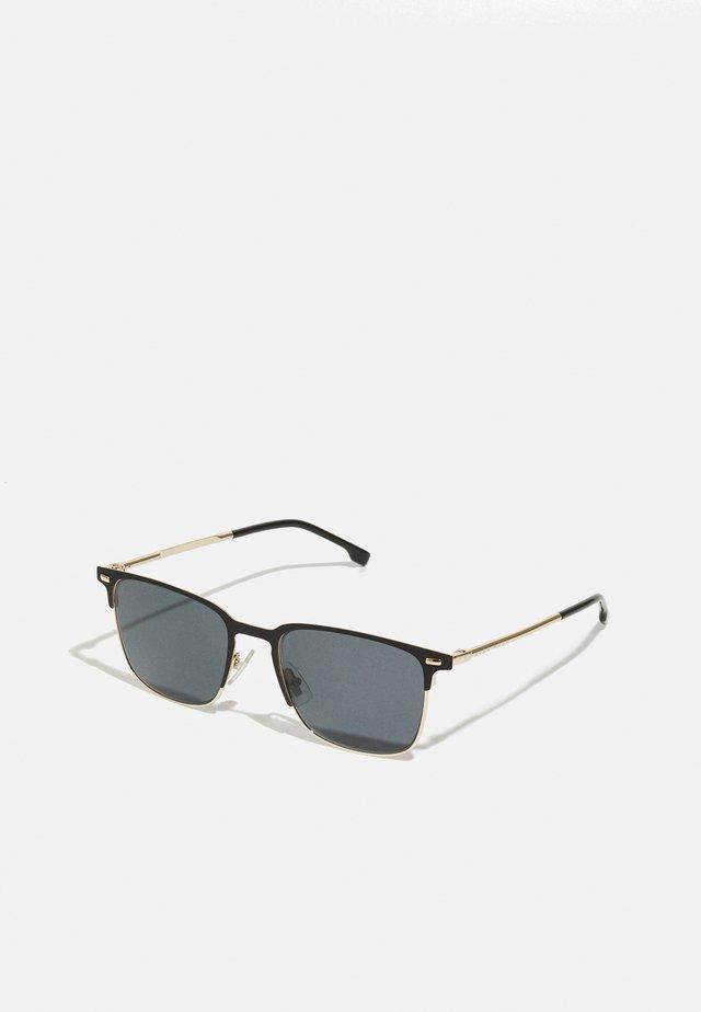 UNISEX - Sluneční brýle - matte black/gold-coloured