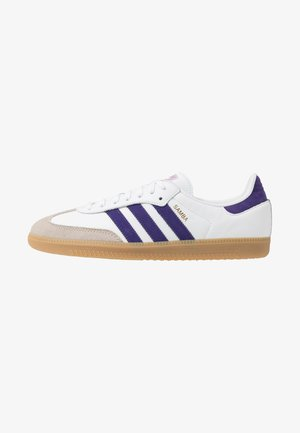 SAMBA FOOTBALL - Baskets basses - footwear white/collegiate purple/soft vision