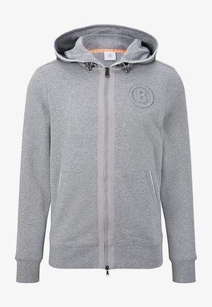 CISC - Zip-up hoodie - hellgrau meliert