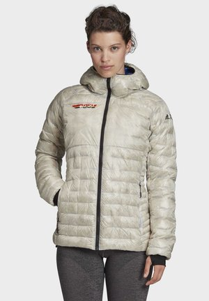 CLIMAHEAT CLIMAWARM OUTDOOR DOWN JACKET - Down jacket - white