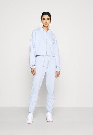 SET - Oversized Sweat Jacket & Jogger - Zip-up sweatshirt - blue