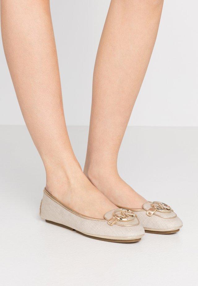 LILLIE - Ballerinaskor - pale gold