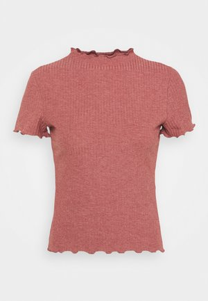 ONLEMMA HIGHNECK PETIT - Basic T-shirt - apple butter