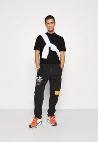 Topman - TURTLE 2 PACK - T-shirt basic - black - 0