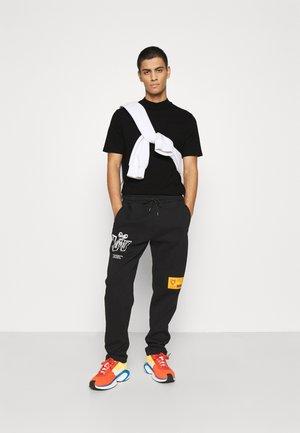 TURTLE 2 PACK - T-shirt - bas - black