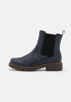 Classic ankle boots - pazifik/schwarz