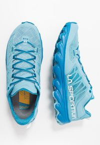 La Sportiva - HELIOS III WOMAN - Trail running shoes - pacific blue/neptune - 1