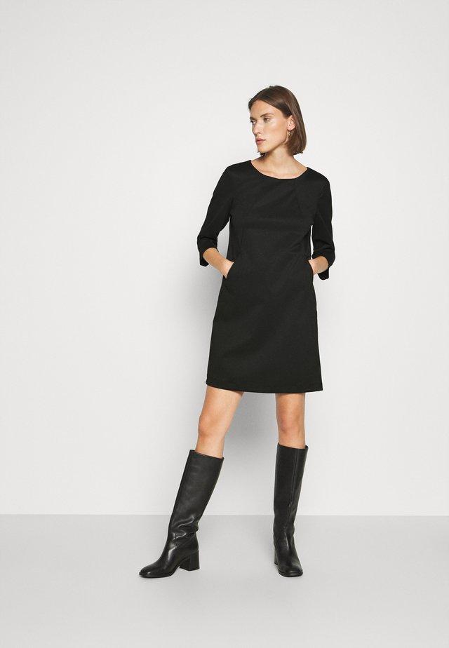 ABITO SUYSTAMO - Jersey dress - nero