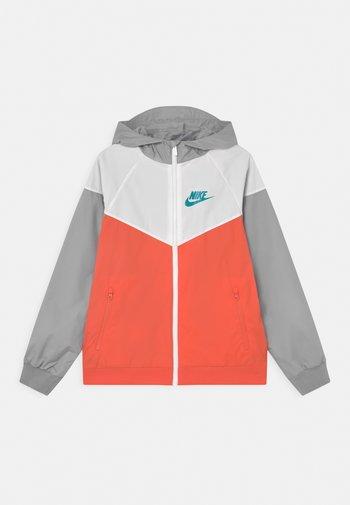 Training jacket - turf orange/white/wolf grey
