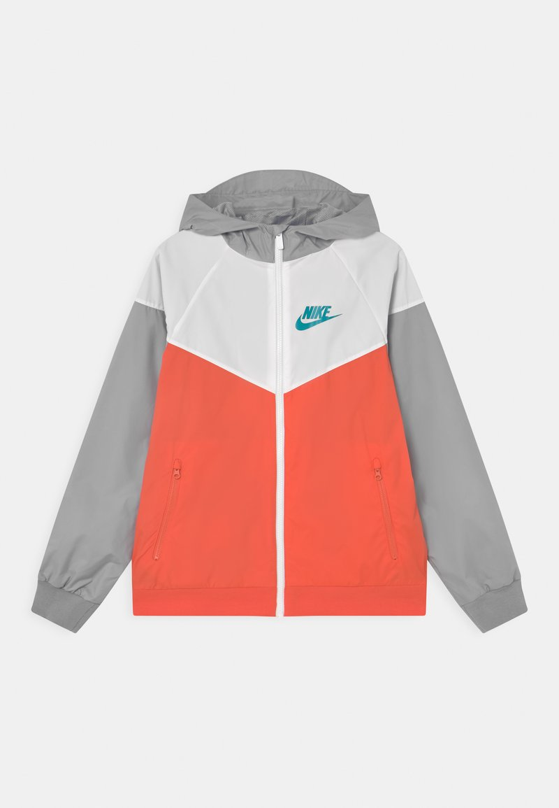 Nike Sportswear - Training jacket - turf orange/white/wolf grey