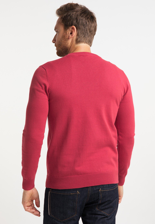 Dreimaster Strickpullover - Rot