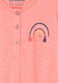 Staccato - KID - Overal - light neon peach melange - 2