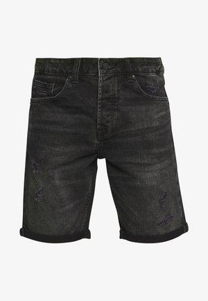 ONSAVI LOOSE  - Jeans Short / cowboy shorts - black denim