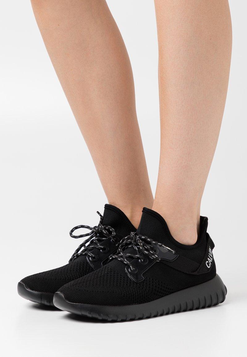 Calvin Klein Jeans - RONETTE - Trainers - black/silver