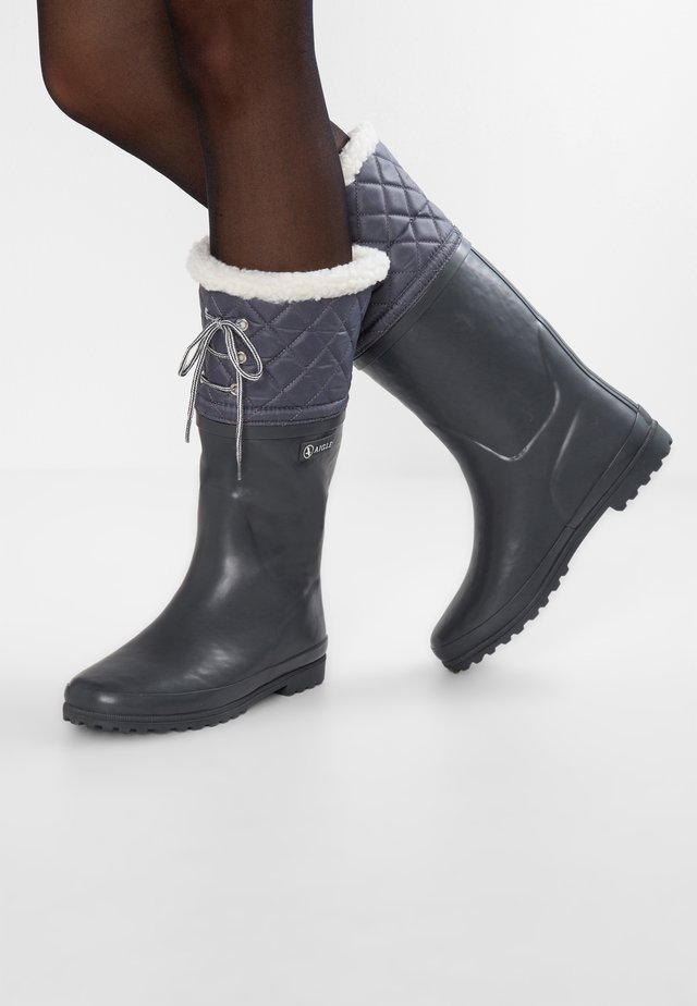 POLKA GIBOULÉE - Stivali di gomma - asphalt metal