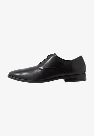 STANFORD WALK - Smart lace-ups - black