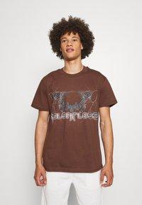 Night Addict - T-shirt imprimé - brown - 0