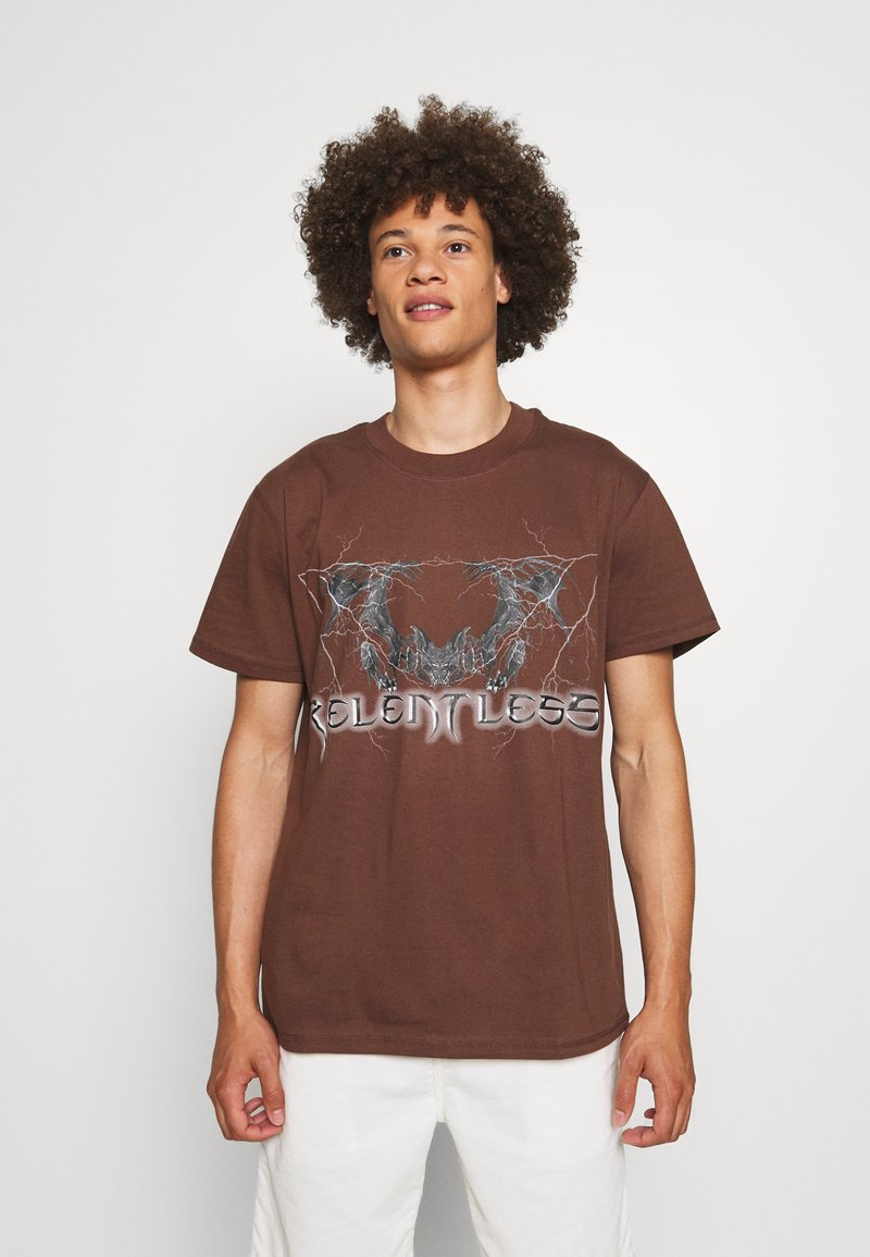 Night Addict - T-shirt imprimé - brown