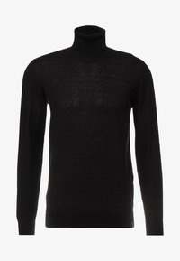 INDICODE JEANS - KERWI MERINO  - Stickad tröja - black - 4