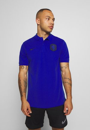 NIEDERLANDE - Polo - bright blue/black