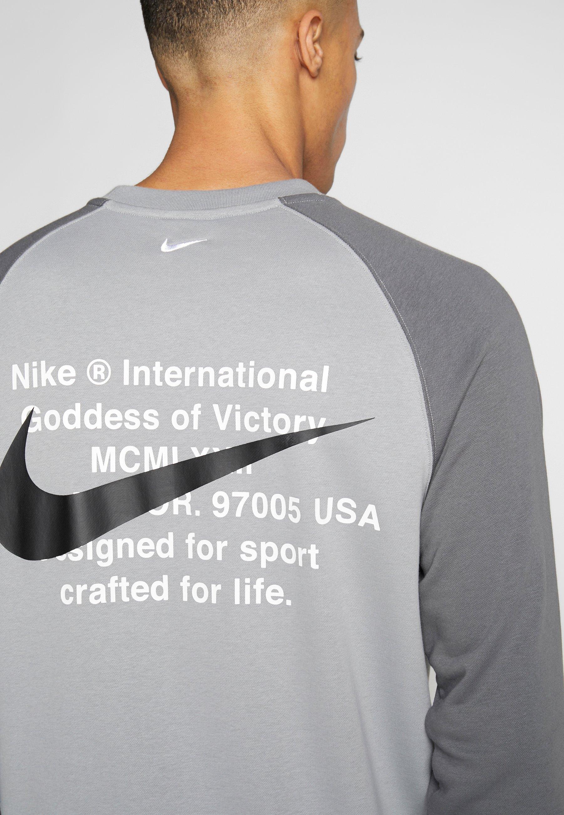 Nike Sportswear Sweatshirt particle greywhitedunkelgrau