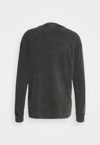 Han Kjøbenhavn - BOXY LONG SLEEVE TEE - Top sdlouhým rukávem - faded dark grey - 6
