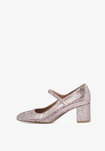 DORA  - Classic heels - pink glitter