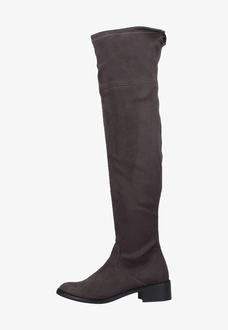 s.Oliver - Over-the-knee boots - dark grey