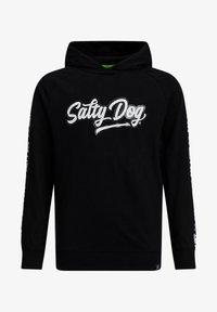 WE Fashion - SALTY DOG - Hoodie - black - 3