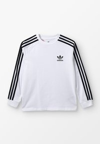 adidas Originals - Camiseta de manga larga - white/black - 0