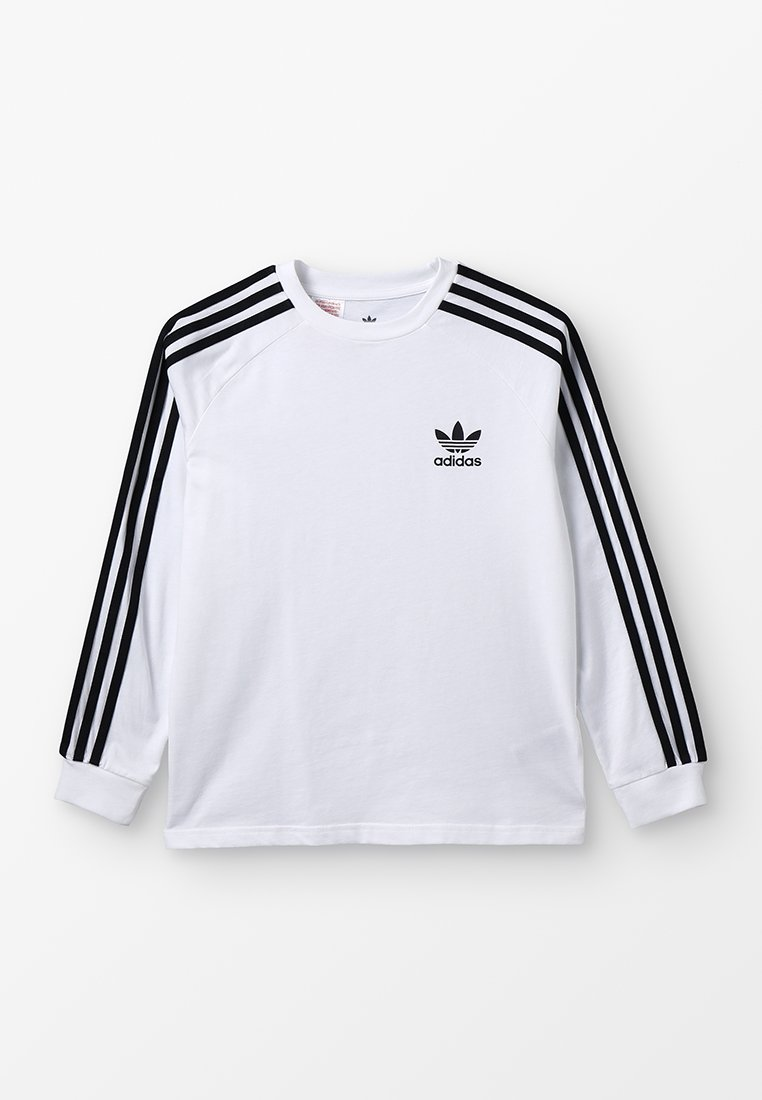 adidas Originals - Langarmshirt - white/black