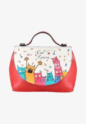 HANDY CAT LOVERS - Handbag - rot