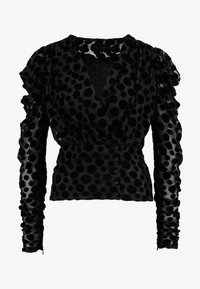 CATJA BLOUSE - Bluser - black