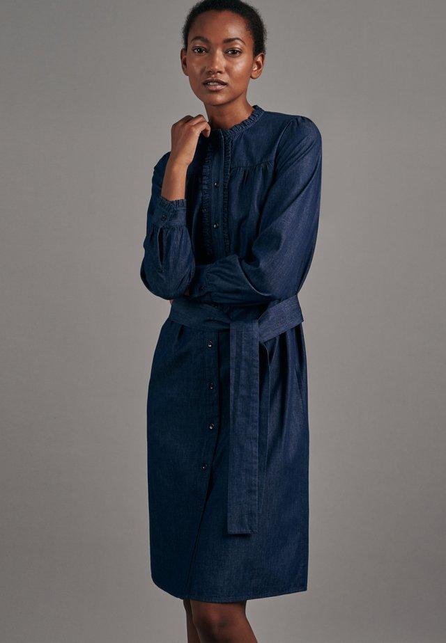REGULAR FIT - Shirt dress - dunkelblau