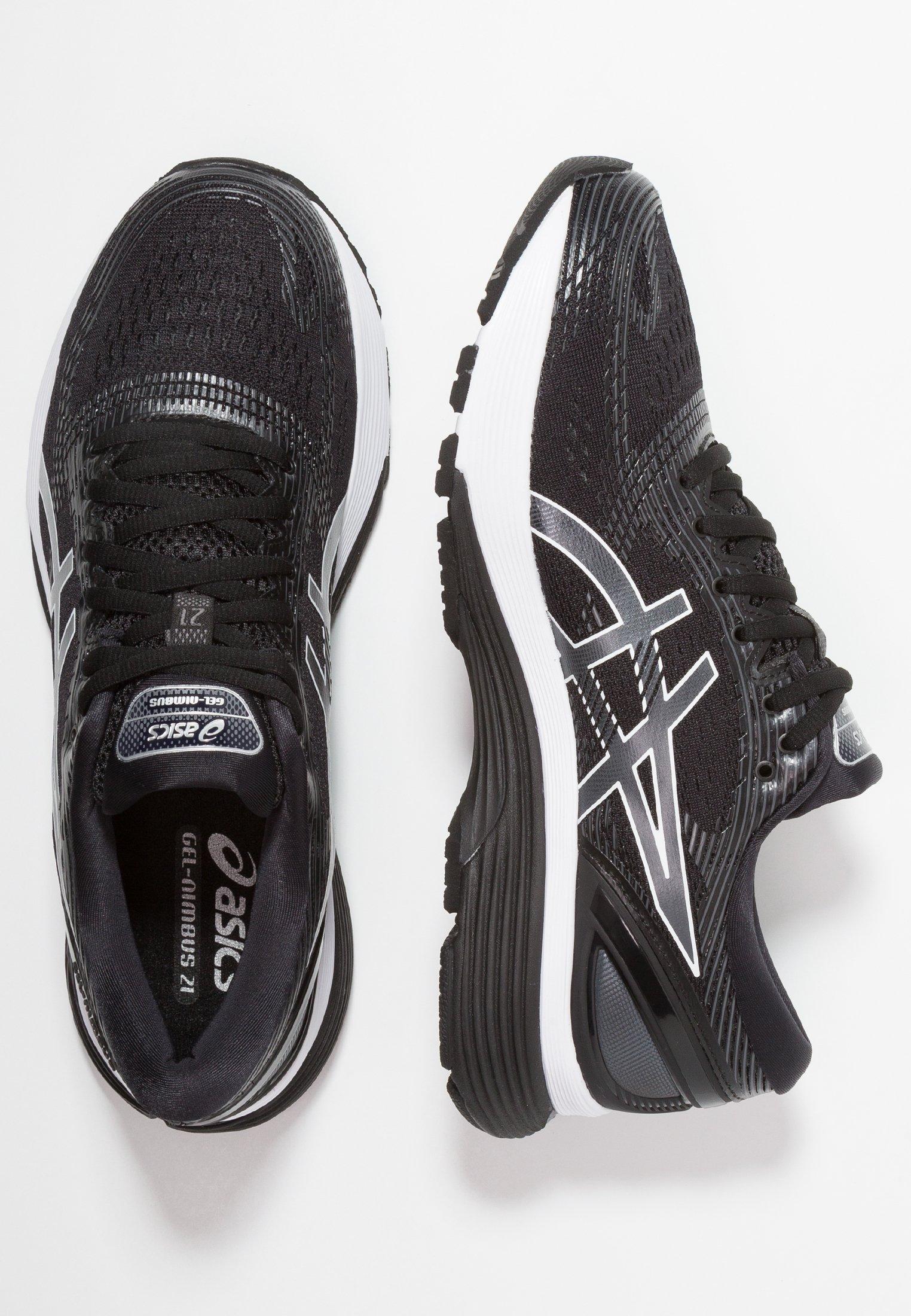 GEL-NIMBUS 21 - Zapatillas de running neutras - black/dark grey