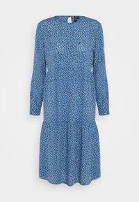 Vero Moda Petite - VMCATIE O-NECK CALF DRESS - Day dress - granada sky - 0