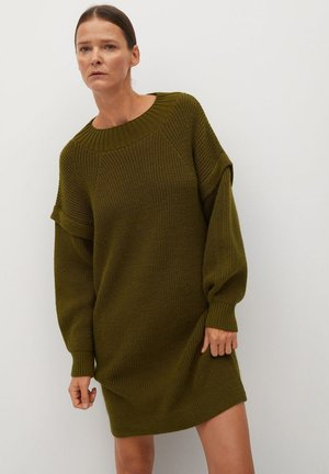 REGY - Jumper dress - olivengrün