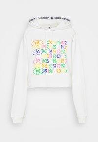 M Missoni - FELPA - Sweatshirt - white - 0