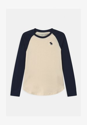 RAGLAN - Long sleeved top - cream body