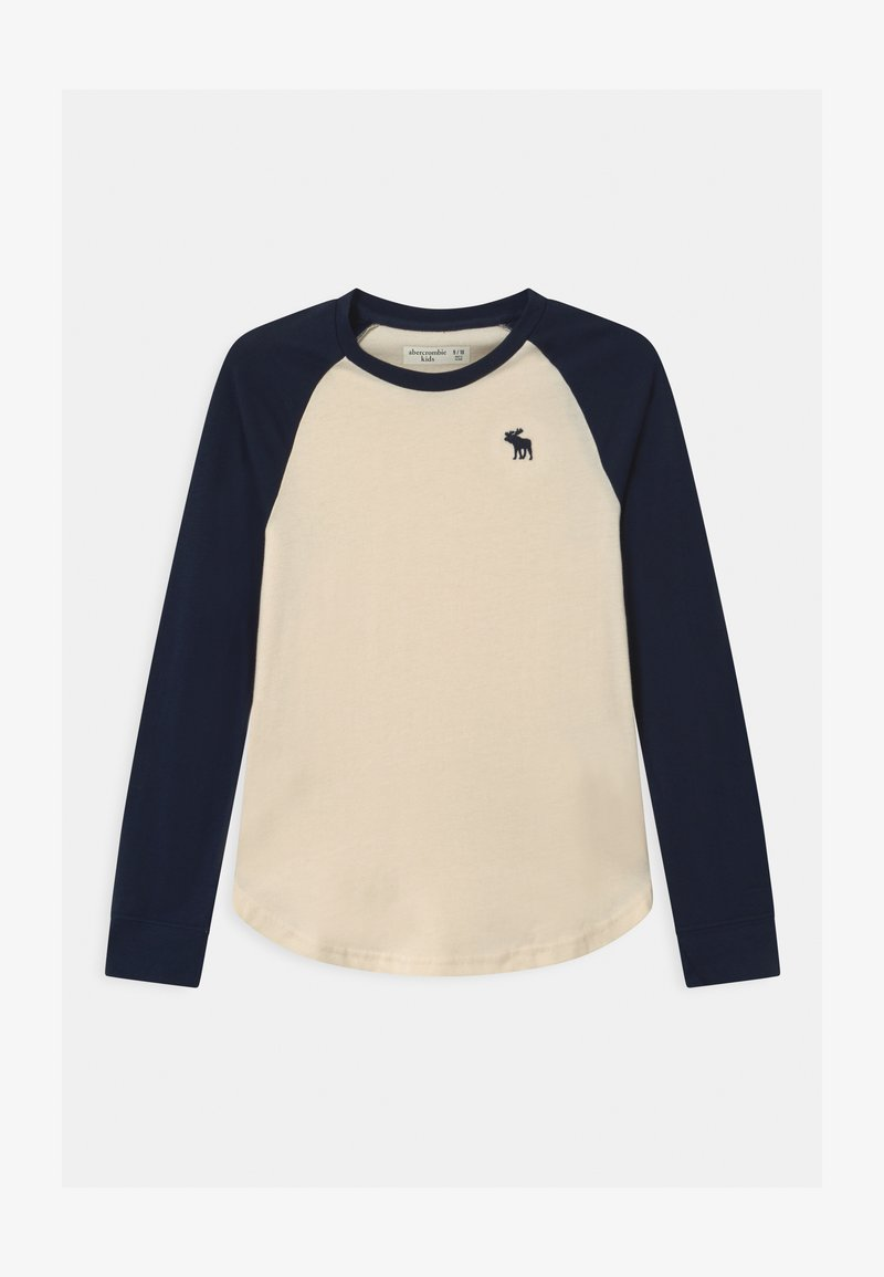 Abercrombie & Fitch - RAGLAN - Long sleeved top - cream body