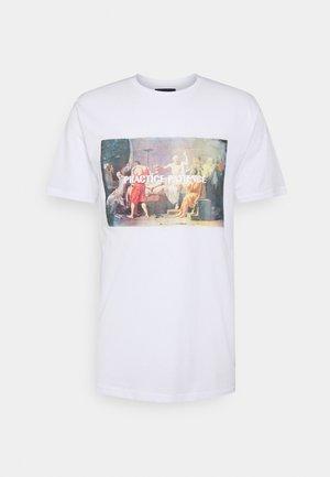 PHOTO TEE - T-shirt print - white